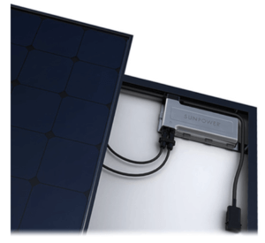 Our system uses microinverters for an improved design